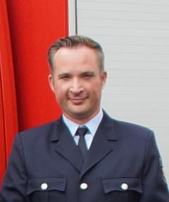 Wehrführer Benedikt Ney
